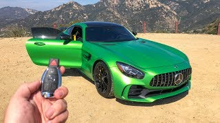 What It's Like To Drive The '18 Mercedes AMG GTR (POV)!