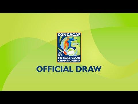 Official Draw | CONCACAF Futsal Club Championship Honduras 2017