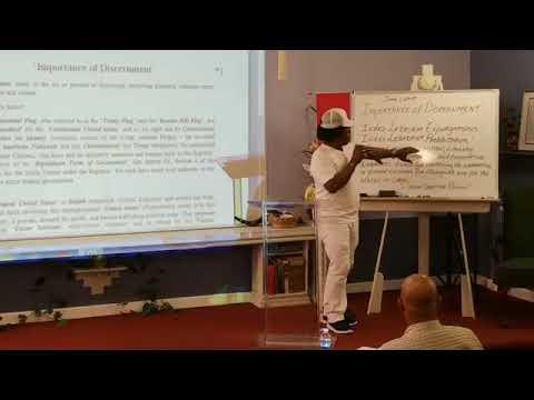 Grand Sheik Taj Tarik Bey  Importance of Discernment 6/1/2018