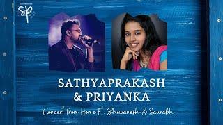 Sathyaprakash & Priyanka's Online concert from Home.