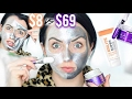 BATTLE OF THE SILVER FACE MASKS! Glamglow vs. Drugstore
