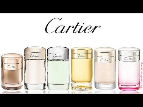 3c52252cdae Cartier - Baiser Vole Lys Rose Perfume - YouTube