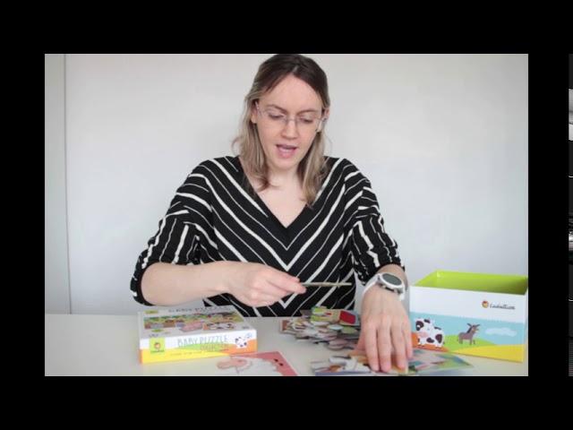 puzzle baby ludattica pour les enfants dès 2 ans