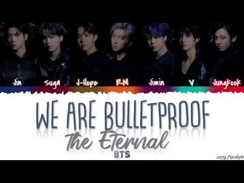 BTS - 'WE ARE BULLETPROOF : The Eternal' Lyrics [Color Coded_Han_Rom_Eng]