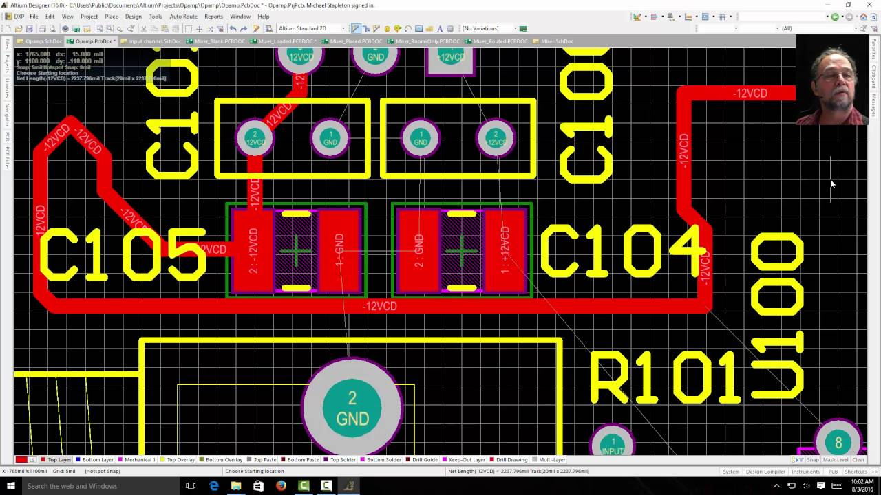 Use Of Conductors Insulators On A Pic Microcontroller Board Pcb2jpg