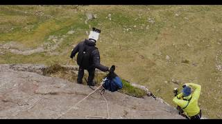 British BASE Jumping - Snowdonia