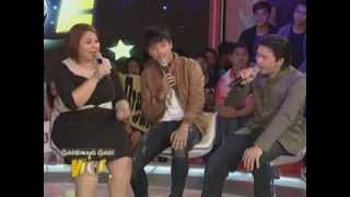 "Daniel sings ""Akoy Sayo at Ika'y Akin Lamang"" with Parents on Gandang Gabi Vice"