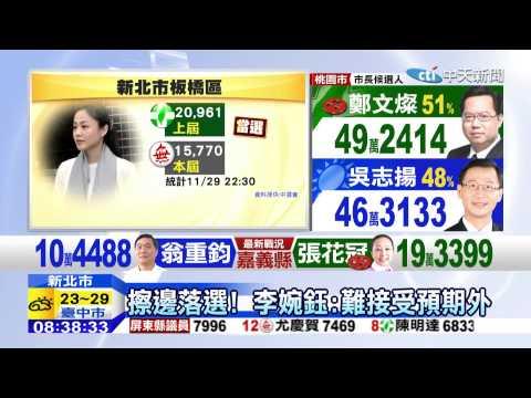 20141130中天新聞 話題女王李婉鈺 無黨參選落敗