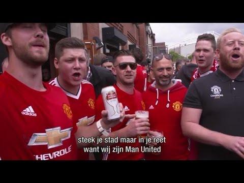 Man Utd fans leven toe naar finale  - VOETBAL INSIDE