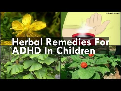 Remedies For ADHD In Children