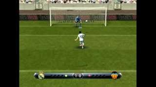 PES 2013 - Penalty shootout [Real Madrid vs Valencia]