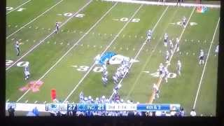 Failed 4th down conversion (Pats vs. Colts 10/18/15)