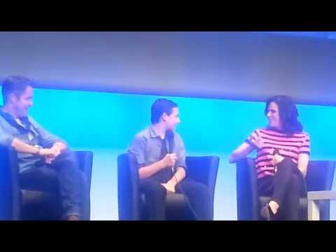 Lana being all mama bear with Jared + Sean helping