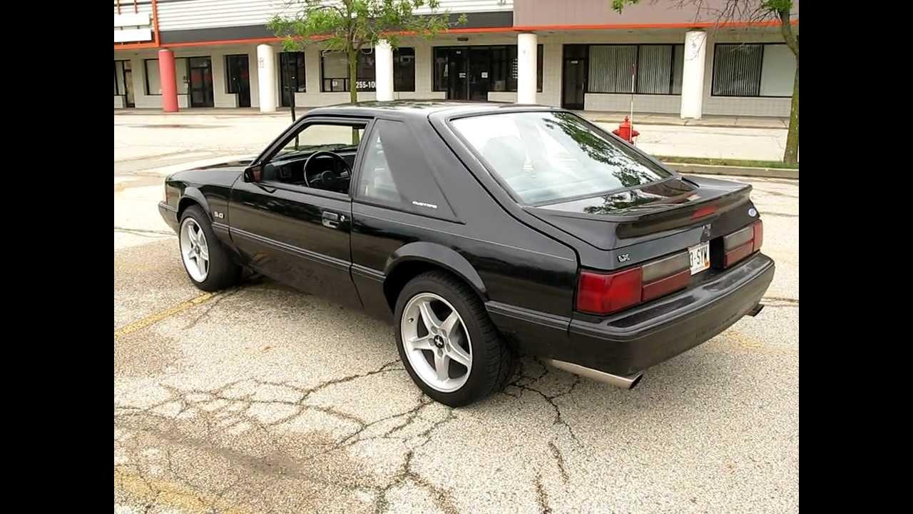 1989 mustang 5 0 lx very clean