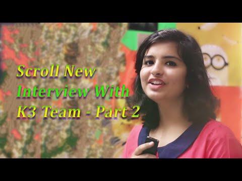 ScrollNew Interview With K3 Team    KSM Pictures    Part 2    Short Film Interviews