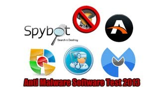 Anti Malware Software Test 2013