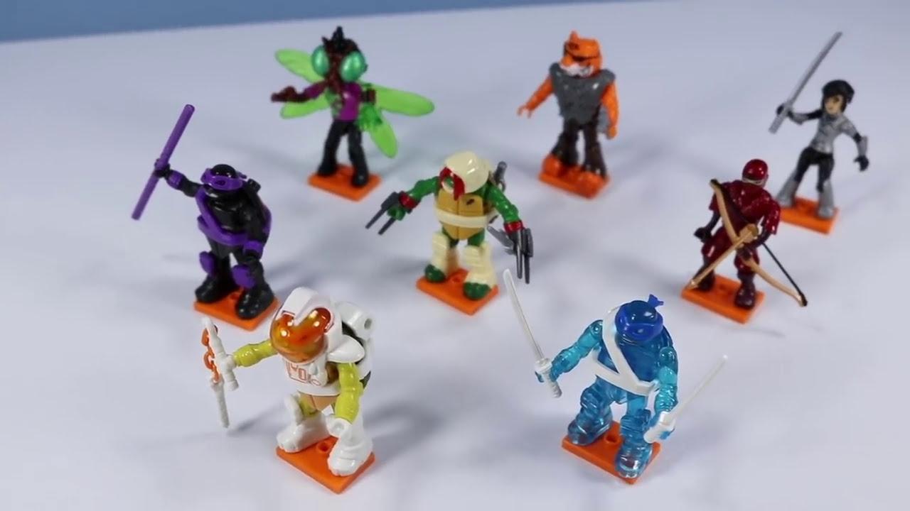 Teenage Mutant Ninja Turtles TMNT Mega Construx Series 4 RAPHAEL Mystic Figure