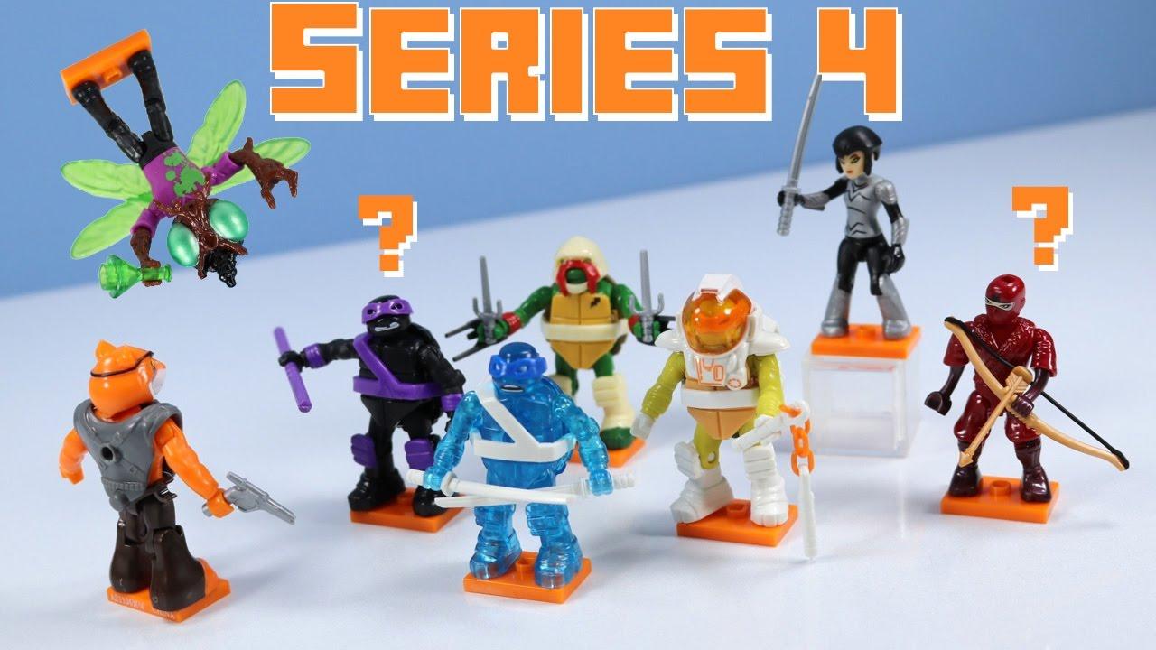 Mega Construx Teenage Mutant Ninja Turtles Series 4 Youtube