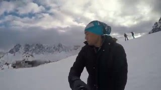 Snowboarding Chamonix - Mont Blanc [Gopro Hero4 Silver]