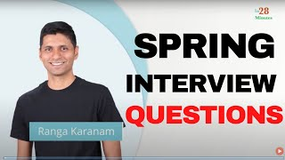 Spring Interview Questions and Answers