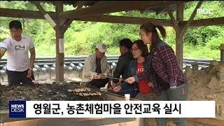 2019. 11. 19 [원주MBC] 영월)농촌체험마을…