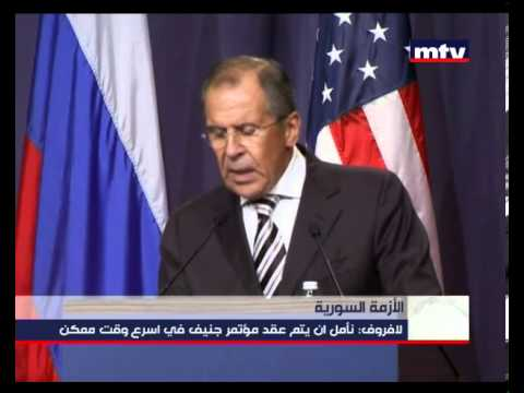 Press Conference - John Kerry and Sergei Lavrov - 14-09-2013