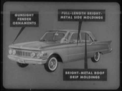 1961 Comet VS Chevy Plymouth Ford Training Film P1