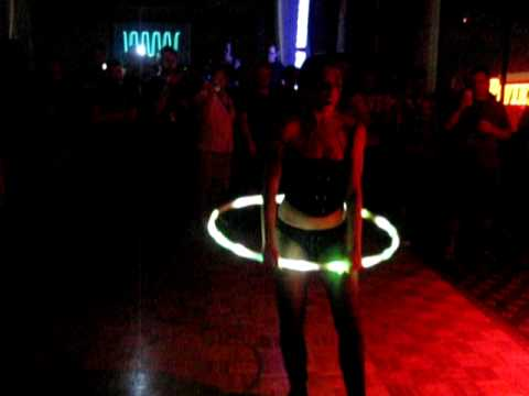 IOActive Freakshow Party- Hula Hooping GoGo Girl Part Two!