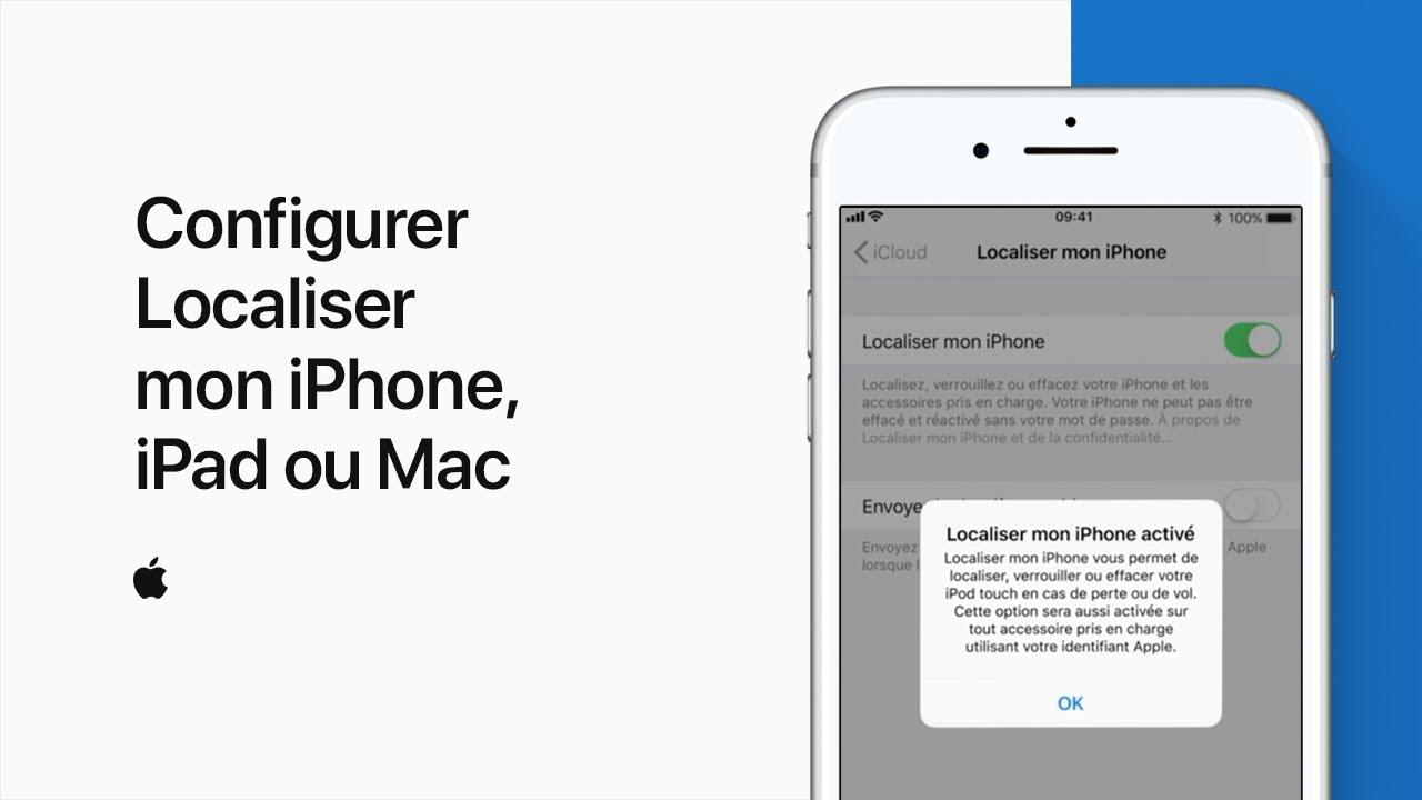 localiser iphone depuis mac