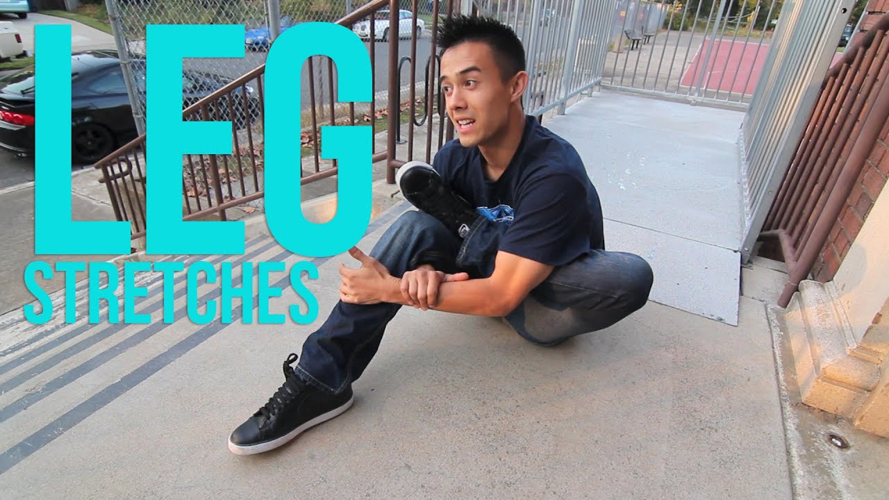 How to Stretch   Leg Stretches   Warming up & Preventing Injuries