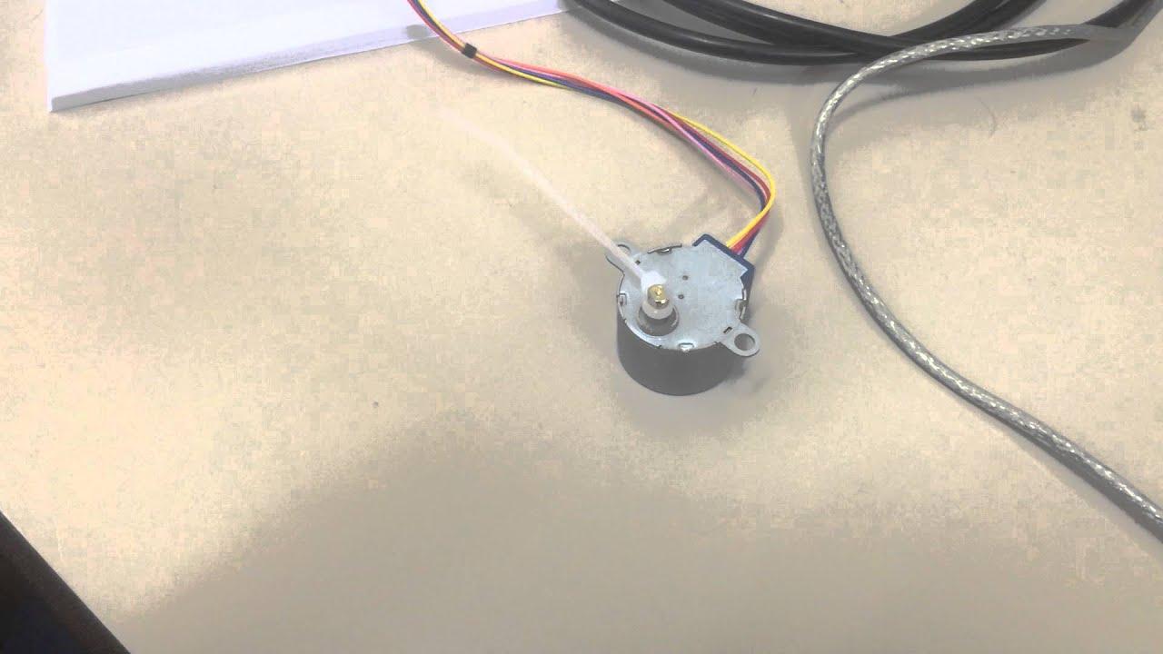 Arduino Step Motor Half Youtube Stepper Wiring