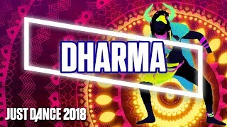 just dance 2018 dharma by headhunterz kshmr official track gameplay us
