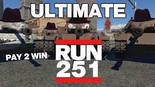PAY TO WIN GO KART - RU 251 in War Thunder - OddBawZ