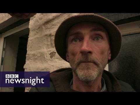 Homeless and hungry: How benefit sanctions hit the poorest  - BBC Newsnight