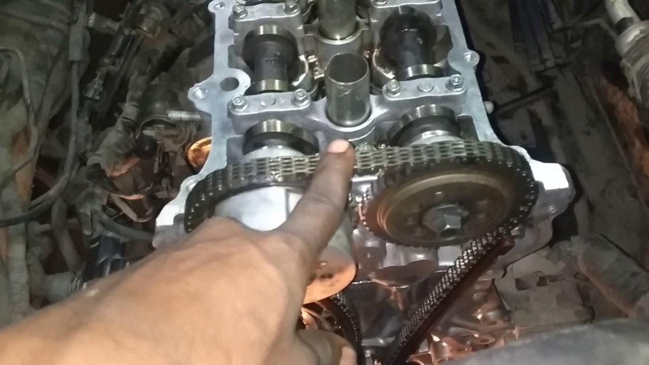 maruti suzuki swift k series engine timing mark - youtube  youtube
