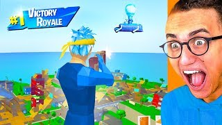 Playing A FAKE Version Of FORTNITE!