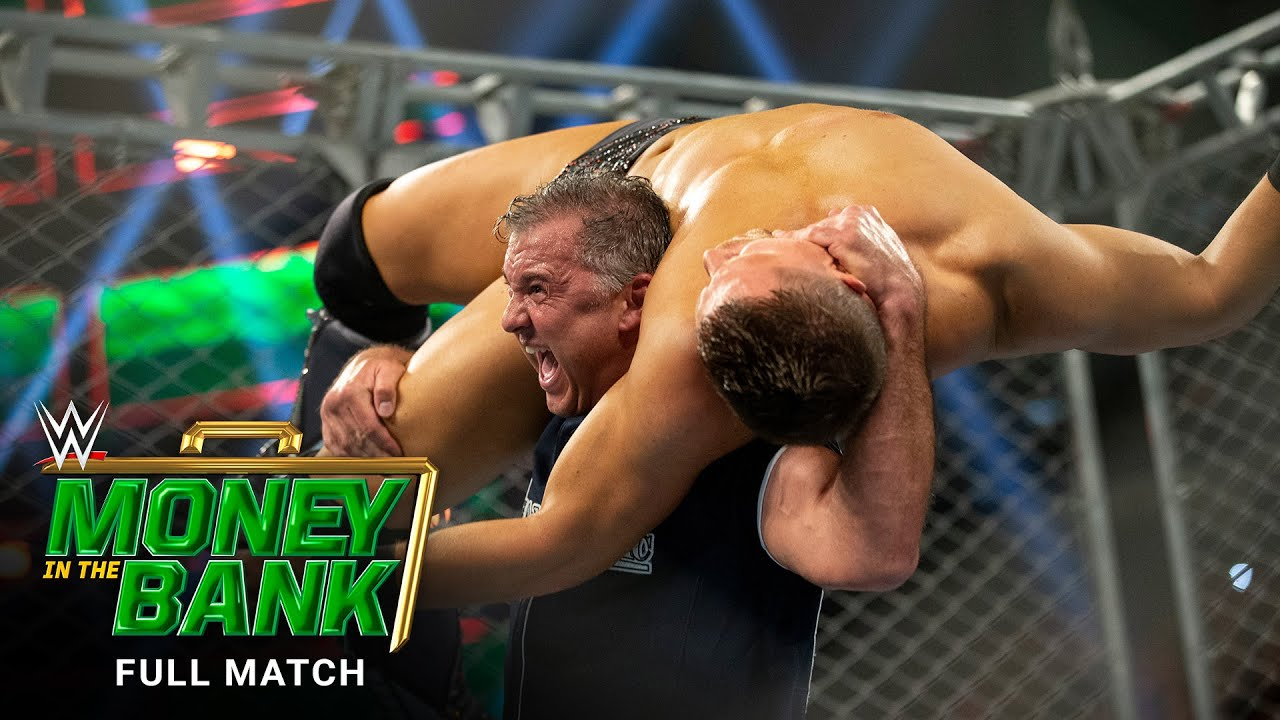 FULL MATCH - The Miz vs. Shane McMahon - Steel Cage Match: WWE Money in the Bank 2019