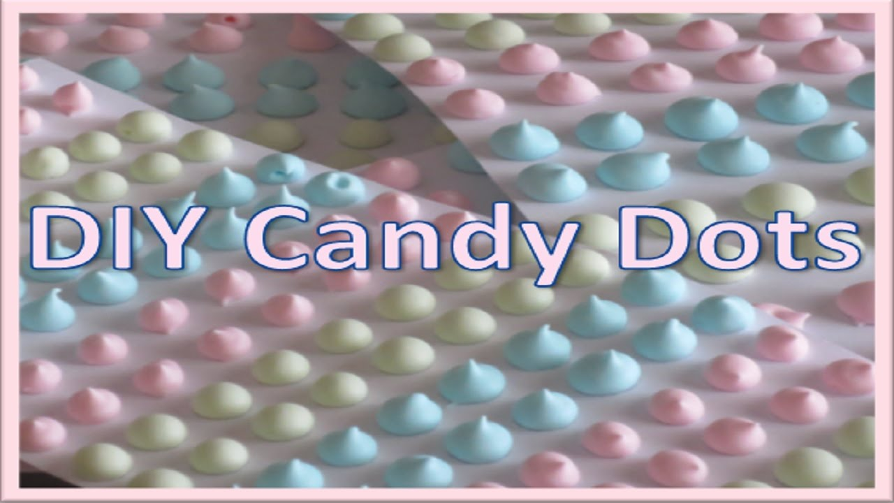 homemade candy dots recipe youtube. Black Bedroom Furniture Sets. Home Design Ideas