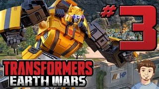 Transformers Earth Wars Gameplay - PART 3 - Bumblebee Joins The Fight! (iOS, Android)
