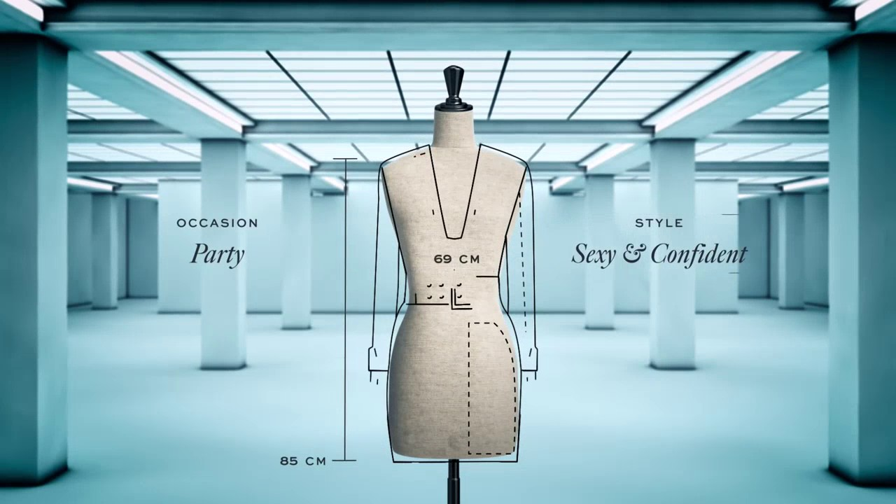 Coded Couture By Ivyrevel Introducing The Data Dress