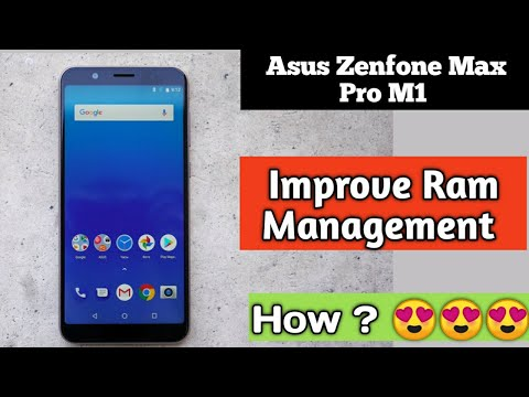 Ram management on asus zenfone max pro m1| How to see free Ram| Clear Ram|