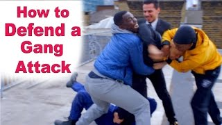 How to Defend a Gang Attack– Wing Chun