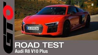 Audi R8 V10 Plus (2016) AutoWeek review - English subtitled