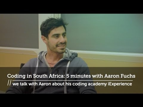 Coding in South Africa: 5 minutes with Aaron Fuchs // HackCville Media