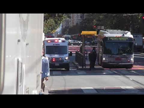 AMR Ambulance San Francisco - Einsatzfahrt