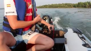 видео Лодочный мотор Ханкай 9.9