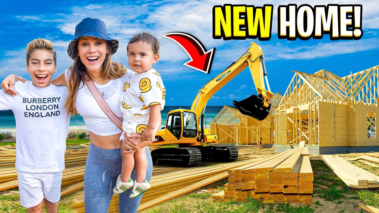 We Are BUILDING a NEW HOME!!! (DREAM COME TRUE) 😱 | The Royalty Family