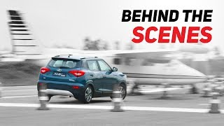 New Mahindra XUV300: Behind the scenes : Gaurav Gill sets the roads on fire! : PowerDrift