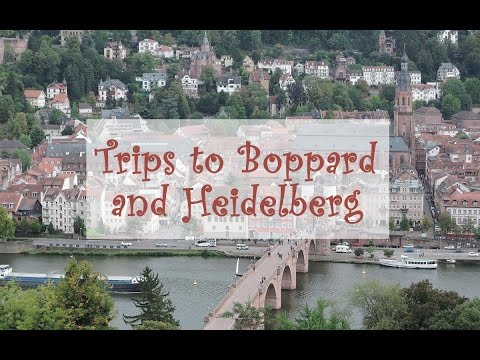 Jessica's Travel Vlog l Trips to Boppard and Heidelberg
