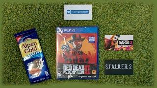 📦 Распаковка диска Red Dead Redemption 2 от GameKazan ᴴᴰ 1080p